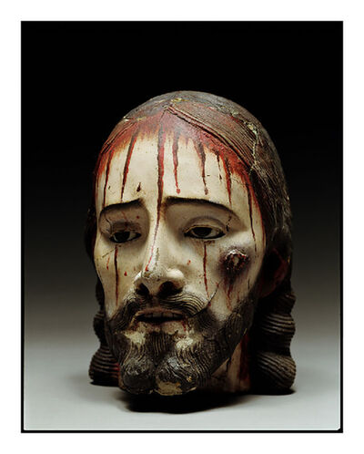 David Bailey, 'Christ Head Eyes Open', 2007