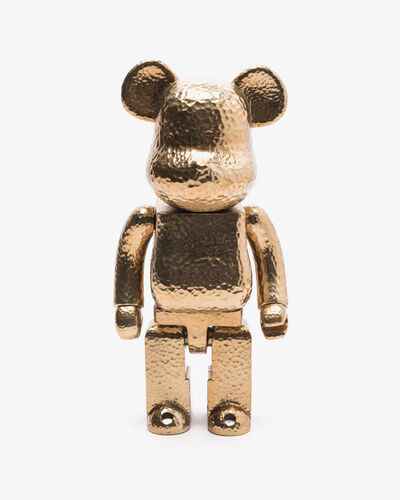 BE@RBRICK, 'BE@RBRICK ROYAL SELANGOR GOLD 400% PEWTER ART LIMITED EDITION', 2019