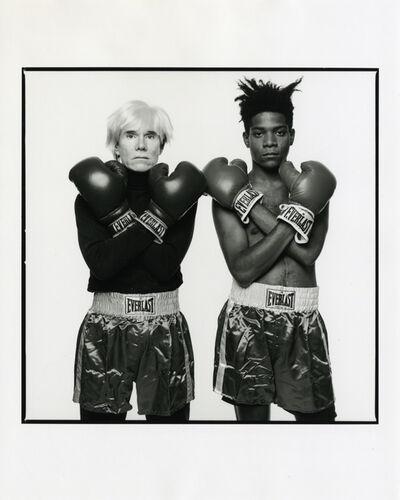 Michael Halsband, 'Andy Warhol & Jean-Michel Basquiat #143, July 10, 1985, New York City', 1985