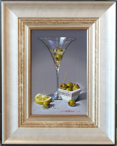 Javier Mulio, 'Martini Glass with Olives', 2019