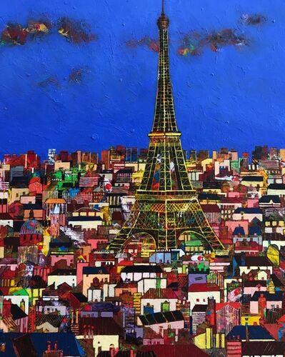 Jean-Francois Larrieu, 'Paris - Tour Eiffel', 2020