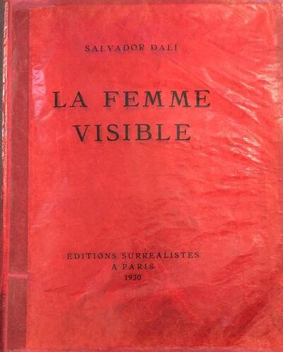 Salvador Dalí, 'La Femme Visible', 1930