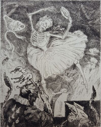 Frederic Chevalier, 'La Danse de la Mort (The Dance of Death)', 1875