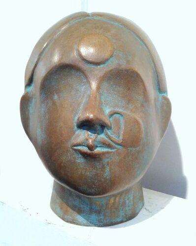 Thota Vaikuntam, 'Bronze Woman', 2017