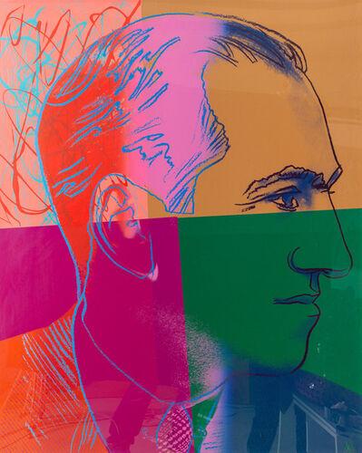 Andy Warhol, 'George Gershwin - Ten Portraits of Jews of the Twentieth Century ',  1980