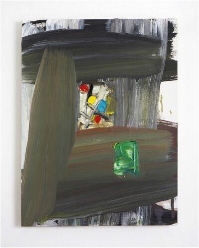 Norbert Prangenberg, 'Abstrakt (with green rectangle)', 2010