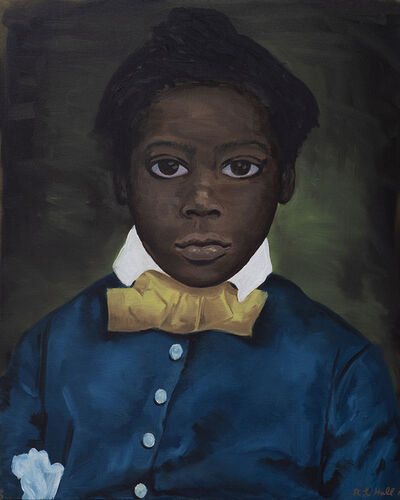 Ronald Hall, 'Portrait of A Boy', 2019