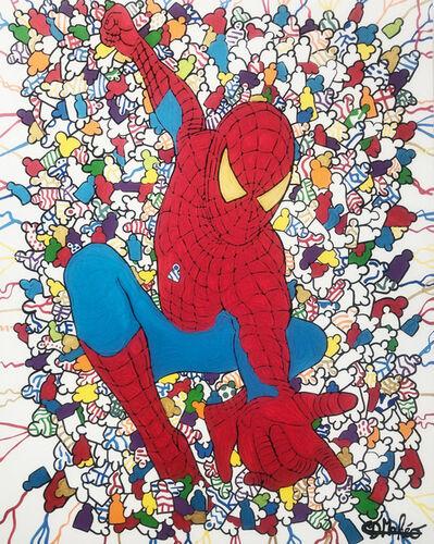 David Mahéo, 'Spiderman et l'attaque des individ'hommes', 2019