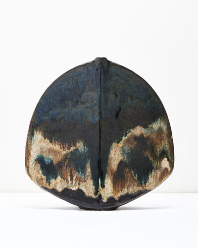 Gerald Weigel, 'Large Flounder Form Vase', ca. 1970
