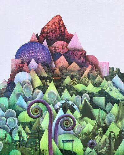 Simon Hughes, 'Mountain (Spring)', 2020