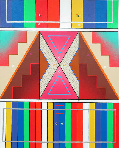 Sixe Paredes, 'Naturaleza abstracta 07', 2017