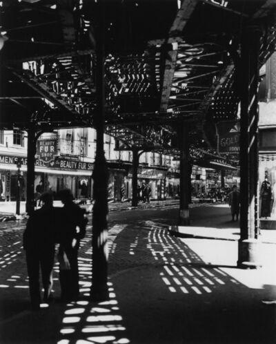 Berenice Abbott, 'El, Second and Third Avenue Line', 1935