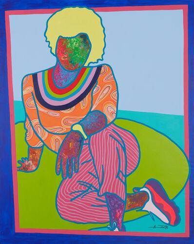 Ajarb Bernard Ategwa, 'Posing in my parlour', 2020