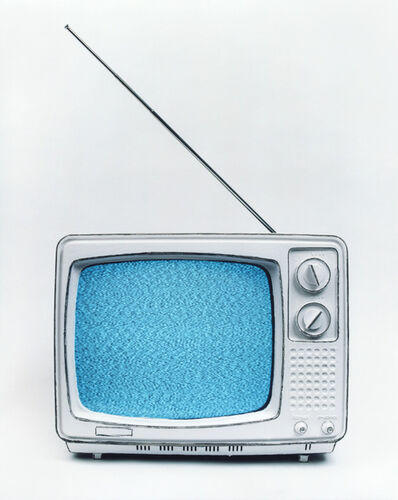 Cynthia Greig, 'Representation #22 (Black&White TV)', 2009