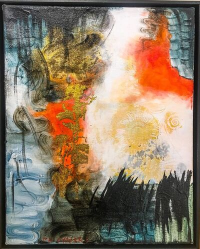 Peggy Cyphers, 'Flame Fossil', 2017