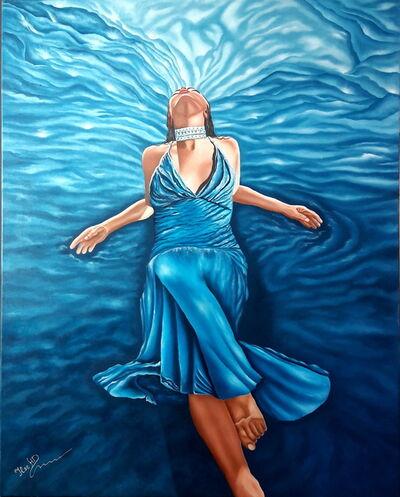 Ilse Heffler, 'Blue Passion', 2018