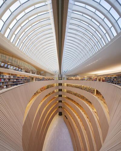 Reinhard Gorner, 'Weightless Wisdom, Library, Zurich, Switzerland', 2018