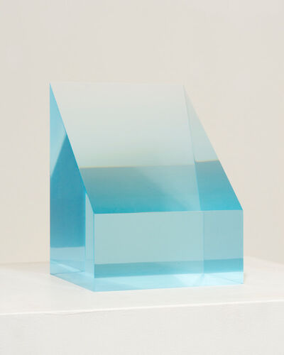 Peter Alexander, '2/21/19 (Blue Block)', 2019