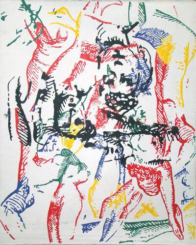 Jean-Marie Haessle, 'grey series/floating colors', 1993