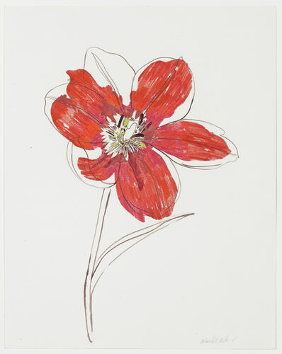 Wardell Milan, 'Little Red Tulip', 2011