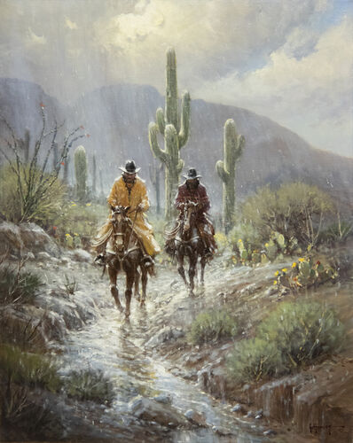G. Harvey, 'A Cowboy's Blessing', 1993