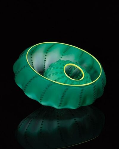 Dale Chihuly, 'Jade Green Seaform Studio Edition', 2016