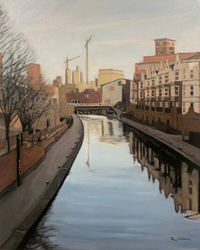 Reuben Colley, 'The New Main Line Canal ', 2020