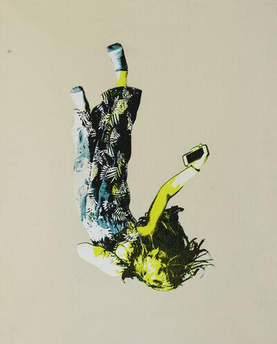 Scott Avett, 'Falling Girl in Blue and Yellow', 2018