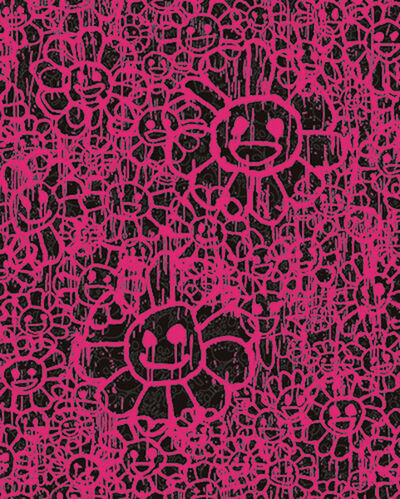 Takashi Murakami, 'FLOWERS A PINK BY MADSAKI X TAKASHI MURAKAMI', 2017