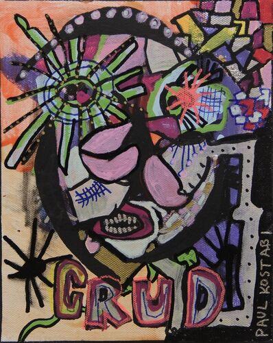 Paul Kostabi, 'Crud and Happiness', 2019