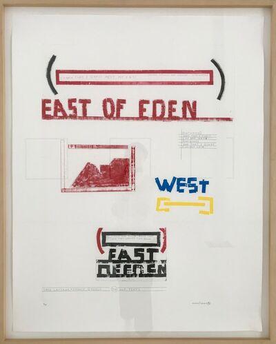 Lawrence Weiner, 'EAST OF EDEN', 1996