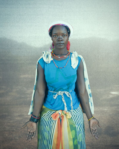 Christopher Rimmer, 'Macubal Woman, Southern Angola', 2018