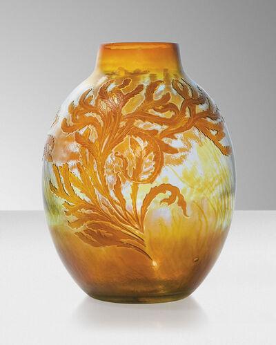 Galle, 'A 'Seaweed' vase', circa 1910