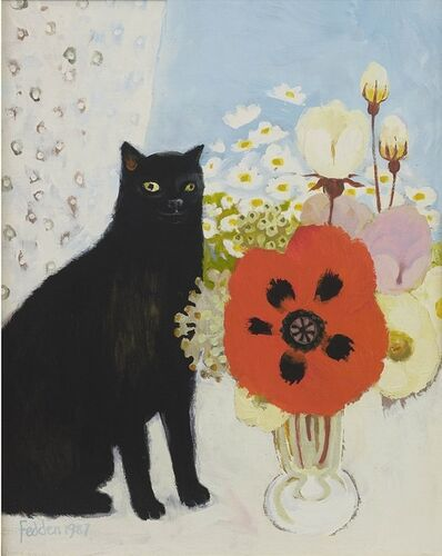 Mary Fedden, 'Lulu and the Poppy', 1987