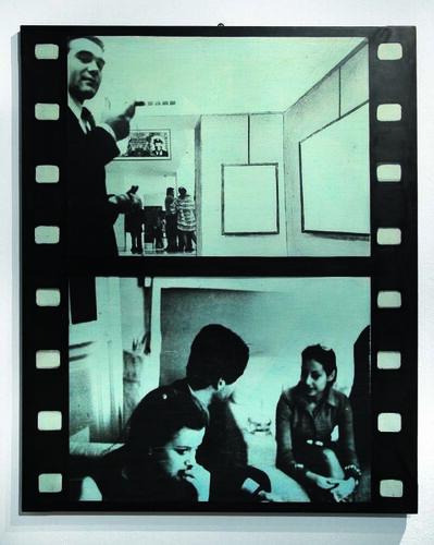 Aldo Tagliaferro, 'Verifica di una mostra 2/7-24', 1970