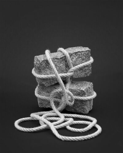 The Cool Couple, 'Rocks and Rope (Escape #2), 2016', 2016