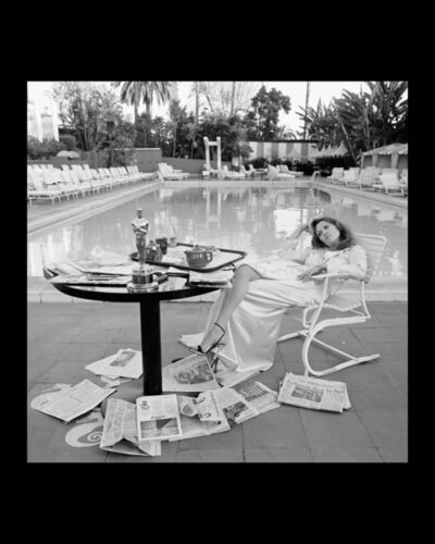 Terry O'Neill, 'Faye Dunaway , The Beverly Hills Hilton, Los Angeles,The Morning after her Network Oscar', 1977