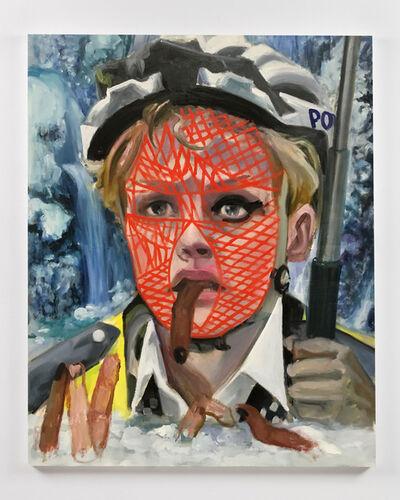 Dawn Mellor, 'Police Constable Kate McFay (Maxine Peake)', 2016