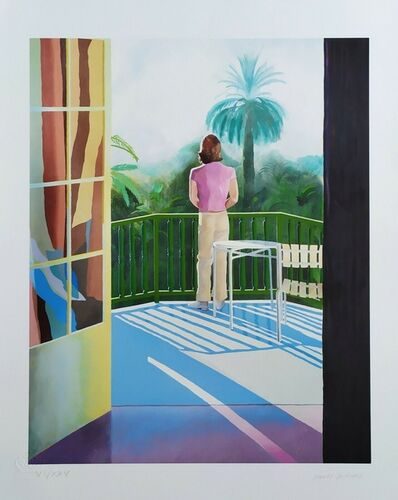 David Hockney, 'Sur La Terrasse 1971', 2014