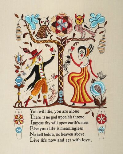 Grayson Perry, 'Recipe for Humanity', 2005