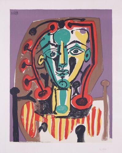 Pablo Picasso, 'La Corsage rayé', 1978