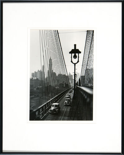 Esther Bubley, 'Brooklyn Bridge'