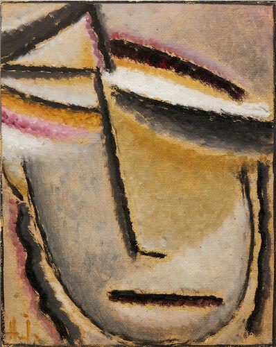 Alexej von Jawlensky, 'Abstrakter Kopf', 1927