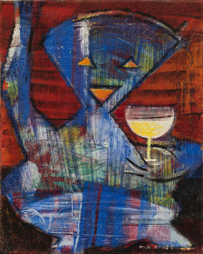 Max Ernst, 'Untitled (Portrait of an Artist as Cherubim)', 1959