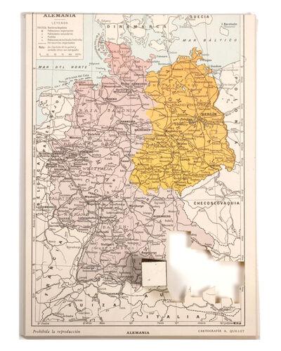 Daniel Medina, 'Cubed maps (Germany)', 2011