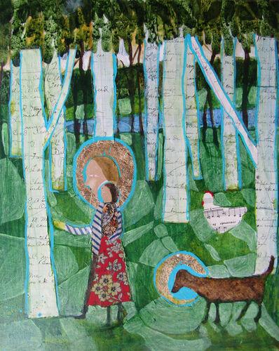 Donald Saaf, 'Walk in the woods', 2021