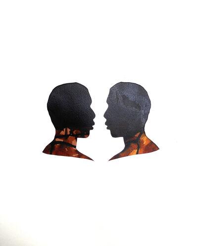 Mary Evans, 'Mirror Image Vandyke Brown', 2013