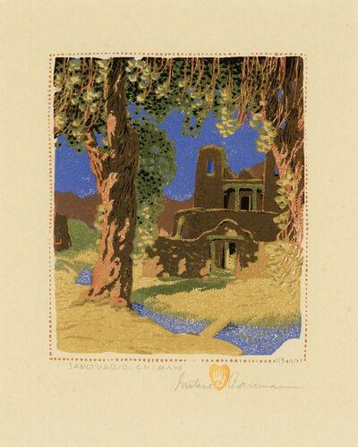 Gustave Baumann, 'Sanctuario - Chimayo', 1924