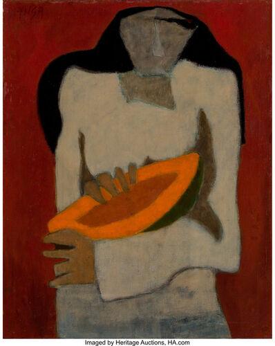Tilsa Tsuchiya, 'Mujer con papaya', circa 1957-59