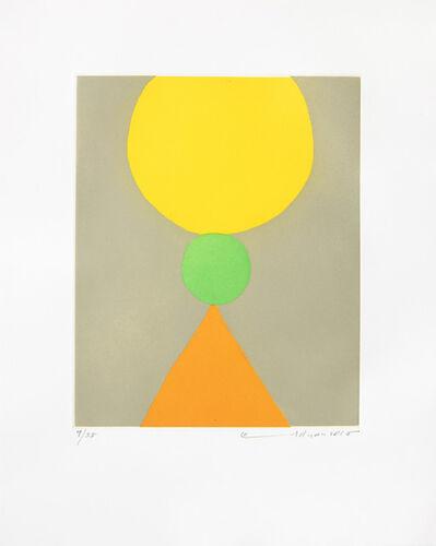 Etel Adnan, 'Poids du monde (Le) V', 2018